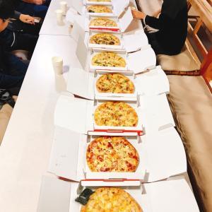 中高生のピザパーティー