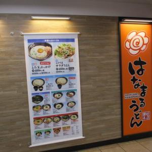 はなまるうどん 高速神戸駅店  朝うどん~
