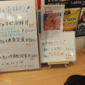 市場食堂 かねまさ・浜下商店   鳥取県賀露港