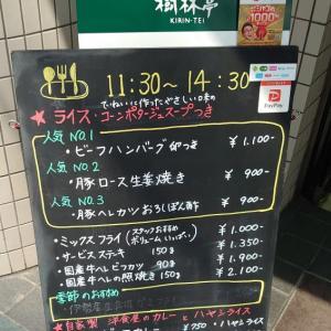 豚ロース生姜焼きランチを食す!【おすすめランチ】 ~大阪大江橋 グリル樹林亭