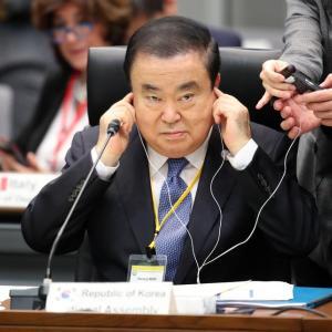 11月17日のニュース 韓国議長、何しに来日したのか 発言撤回なし、会議は途中欠席