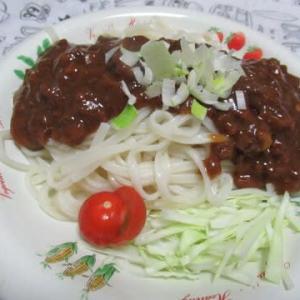おうちランチ・ジャージャー麺