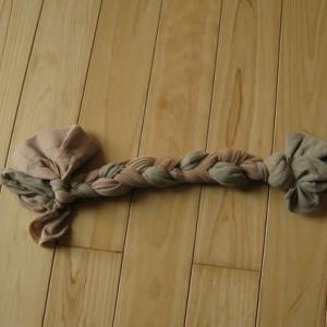 三つ編みストキッング作ってみました