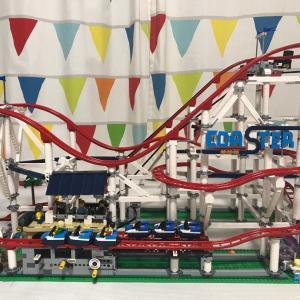 レゴのジェットコースター