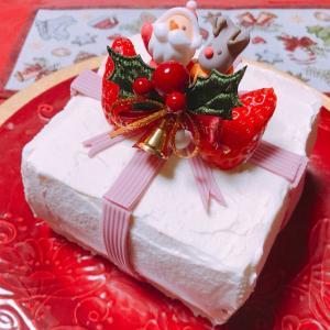 2018年手作りクリスマスケーキ