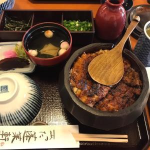 あつた蓬莱軒のひつまぶしと熱田神宮に幸先詣