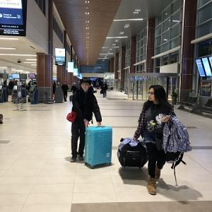 ハリファックスから日本へ帰国するとき・・・