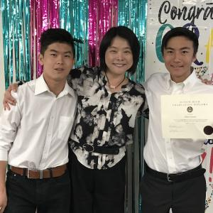 ニューブリッジアカデミー最後の卒業式(中学編)