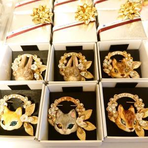 クリスマスブローチ 4種類