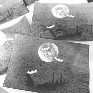 ハロウイン用 背景画