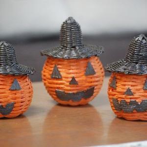 かぼちゃのお化け3兄弟