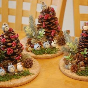 クリスマスツリー*どんぐりトトロ*