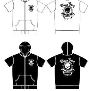 オリジナル半袖パーカー&Tシャツ発売開始