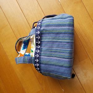 さをり織作品 その2 袋類…