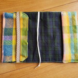 さをり織作品 3 カバー類?