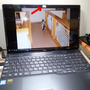Webカメラ内蔵パソコン
