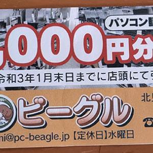 20,000円分商品券