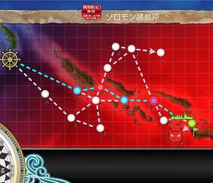 艦これ 進撃!第二次作戦「南方作戦」/E6 ソロモン諸島沖 丁作戦 ギミック解除まで