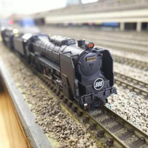 マイクロエース 蒸気機関車のヘッドライト交換