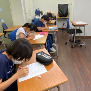 小学5年生、英単語テスト!