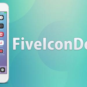 FiveIconDock13 - iOS 13対応iPhoneのドックに5つのアイコンを配置するTweak