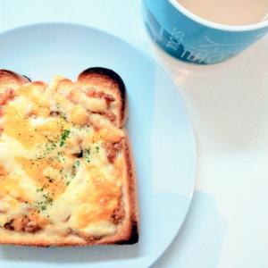 自分のための朝ごはん。