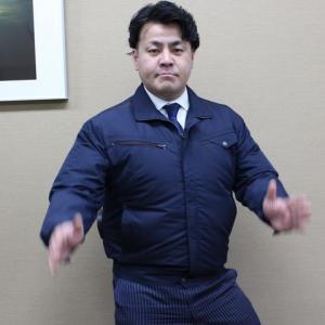 久々登場!大川被服が空調風神服を引っ提げて登場