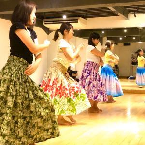 【新宿】3月のレッスン☆ママHULAサークルMother of Aloha