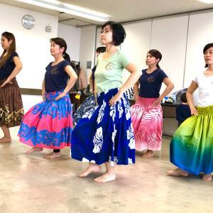 【新小岩】3月のレッスン☆ママHULAサークルMother of Aloha