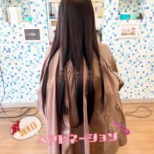 3回目のヘアドネーション引退宣言☆