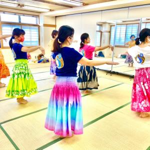 【新小岩】4月のレッスン☆ママHULAサークルMother of Aloha