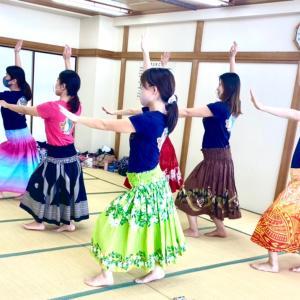 【新小岩】5月のレッスン☆ママHULAサークルMother of Aloha