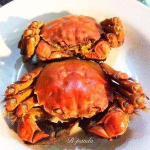 中国★無錫|デリバリー☆お家で上海蟹♪ 【张记螃蟹】