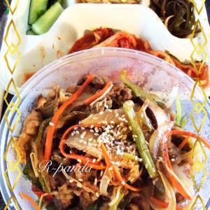 中国★無錫|隔離明けに食べたかった物デリバリー❤︎ 【身土不二】(韓国料理)牛肉ビビンバ