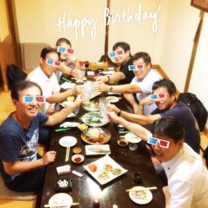 中国★無錫|N野さんお誕生日会♪日本料理【福娘】+BAR【栞】(2020.07.28)