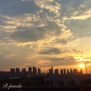 中国★無錫|癒しの朝焼け空〜ラジオ体操の歌〜(2020.08.09)