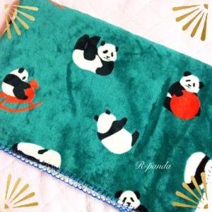 日本★大阪|パンダ柄のふわふわブランケット❤︎手触り良すぎてつい衝動買い!(2020.11.30)