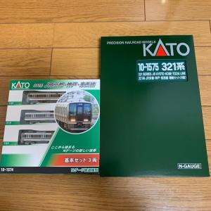 KATO321系入線