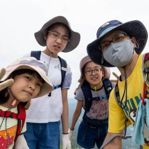 2021年5月下旬 子供達を連れて筑波山へ