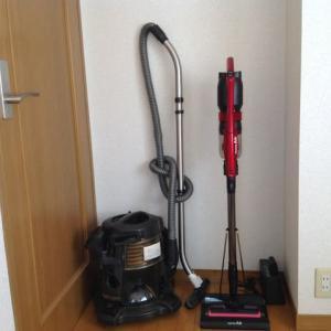 掃除機の新旧交代