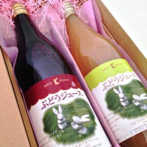 うさうさのプチファームワイン&ジュースがふるさと納税返礼品になりました。