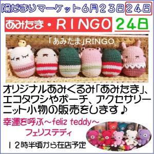 陽だまりマーケット~令和元年~夏バージョン「あみたま・RINGO」さん