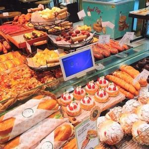 金浦空港のロッテモール内にある美味しいパン屋さん