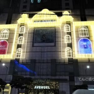 毎年楽しみな明洞新世界百貨店のイルミネーション2019