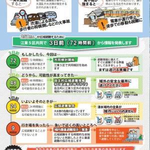 「天気の子」の東京水没や「ここにいてはダメ」との江東五区水害ハザードマップの意図は何か?