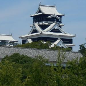 熊本城周辺をウロウロ