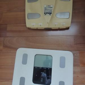 体重記録と支払い記録