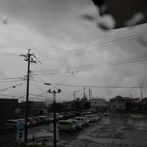梅雨明け前?の豪雨