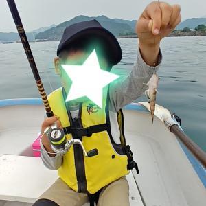 おちび初ボート釣行