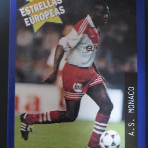 【PANINI】ESTRELLAS EUROPEAS '96